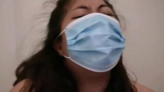 MelanieQuezon Big Cock Worship With Face Mask