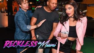 RecklessInMiami   Emily Willis Takes Michael Vegas & Ricky Johnson's Cocks