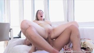 Great Gape With First Timer Amalia Davis