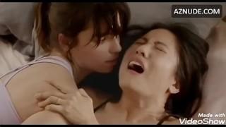 Angela Trimbur & Constance Wu Lesbian Sex (Looped)