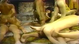 Vintage Cabin Orgy