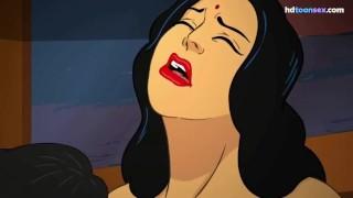 Sexy Punjabi Indian MILF Toon Animation