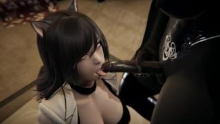 Futa   RWBY   Dark Elf X Belladonna   3D Porn