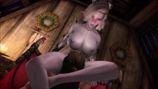 Sexy Succubus Andara Seduces Man Into Having Sex With Her