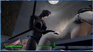 Black Girl Fucked White Without Asking Permission   Porno Game 3d