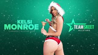 Big Booty Latina Kelsi Monroe Twerks & Fucked For Holidays  PORNHUB X TEAMSKEET EXCLUSIVE