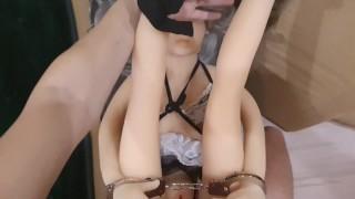Handcuffed Doll, Fucked Ass