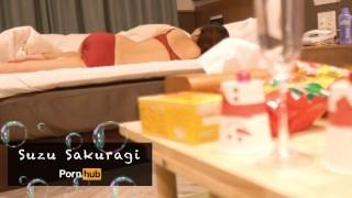 Wakeup Sex With A Girlfriend After Christmas Party Part①   Suzu Sakuragi