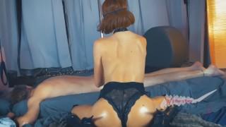 NURU Massage 1 Of 4. Sexy Supermodel Worships A Cock. Love, WiW
