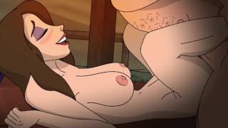 Jane's Dilemma   Jane Fucks Clayton Instead Of Tarzan (1)