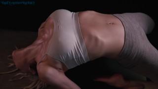 Dripping Hot Sweaty Yoga With Amber LaRay