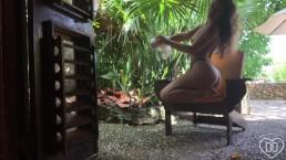 Dani Daniels . Com   Public Masturbation In Paradise