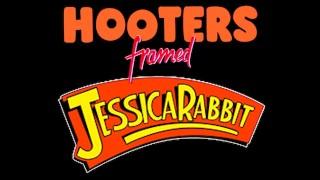Hooters Framed Jessica Rabbit