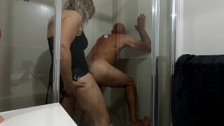 Pegging My Boyfriend In The Shower   MIN MOO