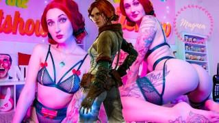 Triss Merigold Erotic Strip Tease