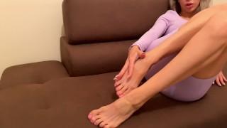 Сum On My Feet! Foot Fetish