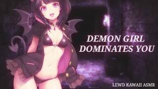 Demon Girl Dominates You (Sound Porn) (English ASMR)