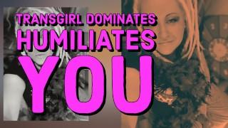 ENHANCED AUDIO Transgirl Dominates And Humiliates You METRONOME JOI CEI FOR FAGGOTS