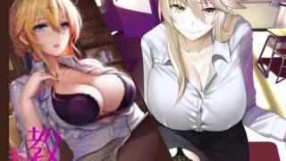 Naughty Teacher Disciplines Her Student   Erotic Audio