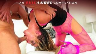 EvilAngel   Sloppy Deepthroats, Gag Reflex & Facials Compilation