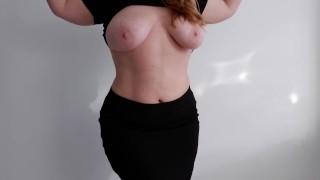 Bouncing Big Tits Busty Milf