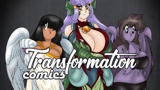 Female Big Boobs Transformation Comics : Episode 1   Anthro TF/TG