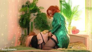 Strap On Lesbian Free Porn Arya Grander