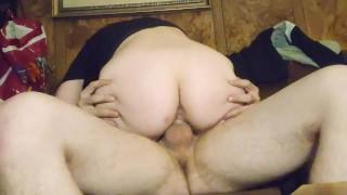 Girlfriend Rides Spun Cock And Cums Hard