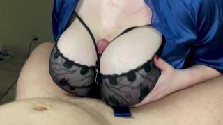 I Like To Fuck Big Tits Of My GF   POV Titfuck And Deepthroat