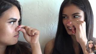 Nose Fetish? 2 Asian Girls Nose