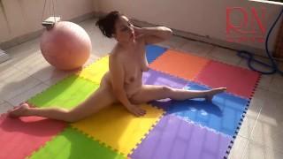 Naked Yoga Naked Gymnastics Nude Yoga PART 3