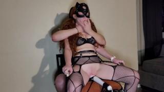 Black Lingerie Device Rope Chair Bondage   Trailer